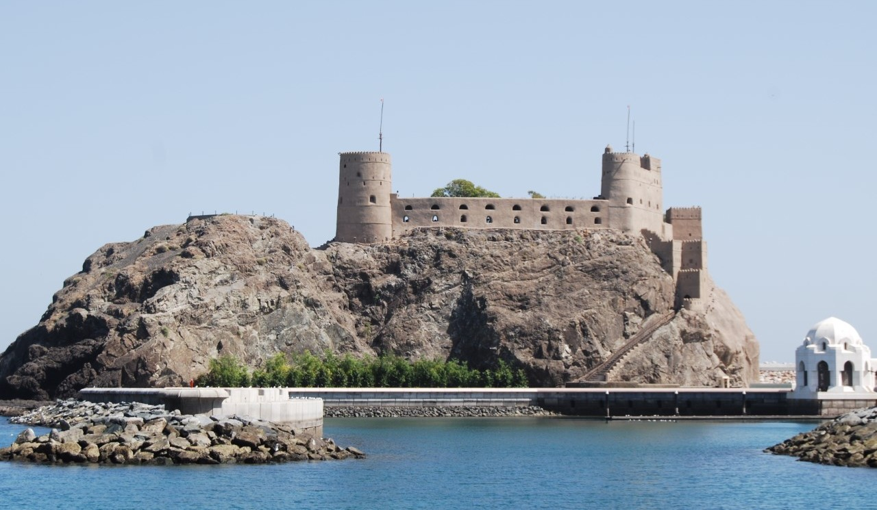 Al Jilali Fort, 1587 Muscat photo by Linda Pappas Funsch