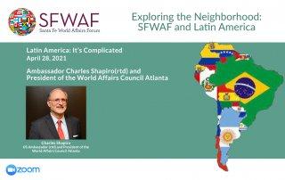 Ambassador Charles Shapiro Webinar(rtd)